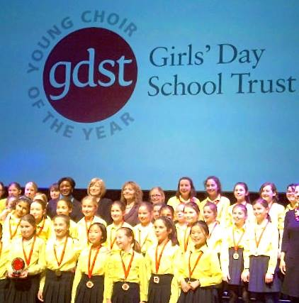 Sheila Wilson's working with The Girl's Day School Trust for a newly commissioned song.