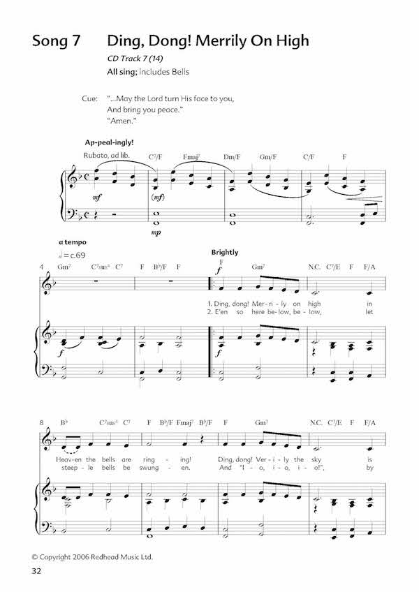 Redhead Music Online - Seven Lessons and Carols